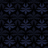 Baroque pattern. Including seamless sample in swatch panel Royalty Free Stock Images