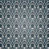 Baroque pattern. Including seamles sample in swatch panel Royalty Free Stock Photography