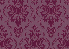 Baroque pattern. Vector illustration of a wallpaper pattern Royalty Free Stock Photography