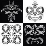 Baroque_pattern01 Fotos de Stock Royalty Free