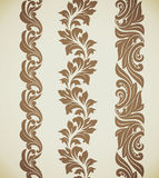Baroque patterns Royalty Free Stock Photos