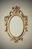 Baroque picture frame Stock Image