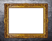 Baroque picture frame Stock Photo