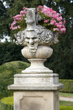 Baroque plant container Royalty Free Stock Images