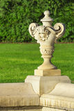 Baroque planter Royalty Free Stock Photos