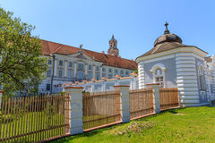 Baroque Portal at Herzogenburg Monastery Royalty Free Stock Photos