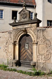 Baroque portal, meissen Royalty Free Stock Photography