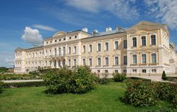 Baroque - Rococo style palace Stock Images