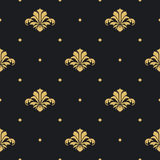 Baroque royal design wallpaper Royalty Free Stock Photography