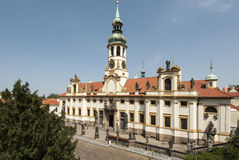 The baroque sanctuary of loreto prague czech republic europe Stock Photography
