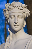 Baroque sculpture bust. Royalty Free Stock Photo