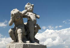 Baroque sculpture Stock Photography