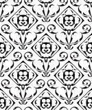 Baroque seamless ornate pattern Royalty Free Stock Photo