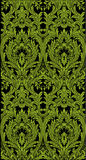 Baroque seamless pattern Royalty Free Stock Photography