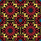 Baroque seamless pattern Royalty Free Stock Photo