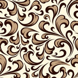 Baroque seamless pattern. Royalty Free Stock Images
