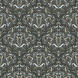 Baroque seamless pattern Stock Images