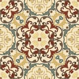 Baroque seamless pattern. Seamless abstract pattern in Baroque style. Decorative and design elements for textile or book covers, manufacturing, wallpapers, print stock illustration