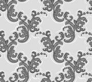 Baroque seamless pattern. vector illustration