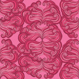 Baroque seamless pattern Royalty Free Stock Images