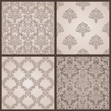Baroque Seamless Pattern. Damask  background. Royalty Free Stock Images