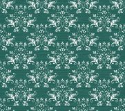 Baroque Seamless Pattern. Royalty Free Stock Photography