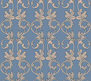 Baroque seamless pattern. Vintage baroque background. Vector seamless pattern Stock Photos