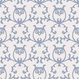 Baroque seamless pattern Stock Photo