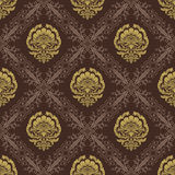 Baroque Seamless Pattern2 Stock Photo