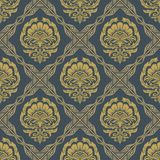 Baroque Seamless Pattern4 Stock Photo
