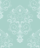 Baroque seamless textile pattern. Baroque seamless vector textile pattern royalty free illustration
