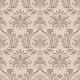 Baroque seamless vector pattern Royalty Free Stock Images
