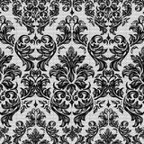 Baroque seamless vintage lace background Royalty Free Stock Photography