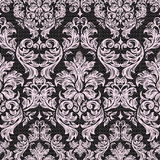 Baroque seamless vintage lace background stock illustration