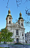 Baroque St. Mary Magdalene church, Karlovy Vary Royalty Free Stock Photo