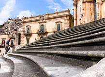 Baroque staircase Royalty Free Stock Photos