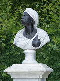 Baroque statue of an Afro-American woman, Potsdam, Royalty Free Stock Photos