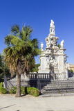 Baroque statue Royalty Free Stock Photos