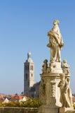 Baroque statue in Kutna Hora Stock Images