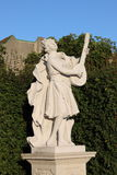 Baroque statue in Vienna Stock Image