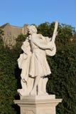 Baroque statue in Vienna stock image