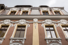 Baroque style building Stock Image