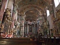 Baroque style church Stock Photo