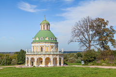 Baroque style church in Podmoklovo Royalty Free Stock Image
