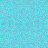 Baroque Style Light Blue and Silver, eps10 Royalty Free Stock Photo