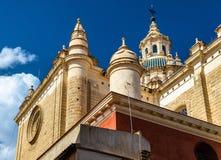 Baroque style Salvador Church in Seville, Spain Stock Photo