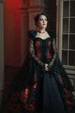 Baroque style woman. Royalty Free Stock Photo