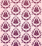 Baroque texture. In lilac color Royalty Free Stock Photography
