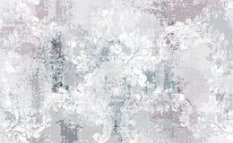 Baroque texture pattern Vector. Floral ornament decoration. Victorian engraved retro design. Vintage grunge fabric