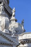 Baroque 17th century church Santa Maria della Salute, Venice, Italy Stock Images